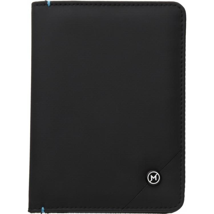 Étui passeport et CB anti-RFID - Porte-monnaie avec logo