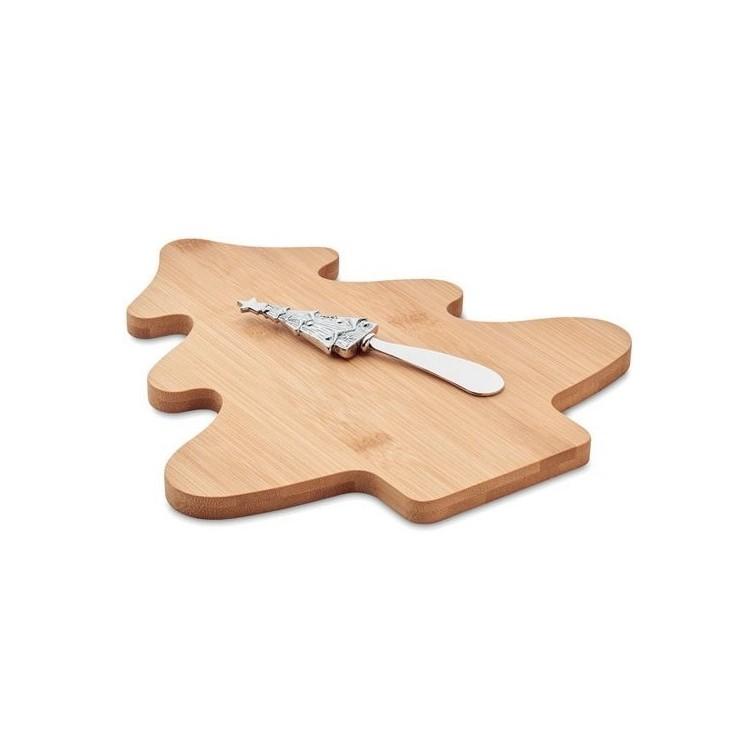 Set à fromages en bambou - Produits personnalisable