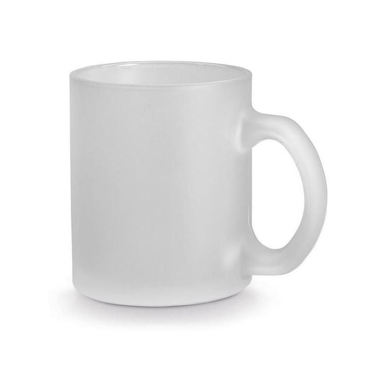 Mug en verre givré 34cl publicitaire - Verre personnalisé