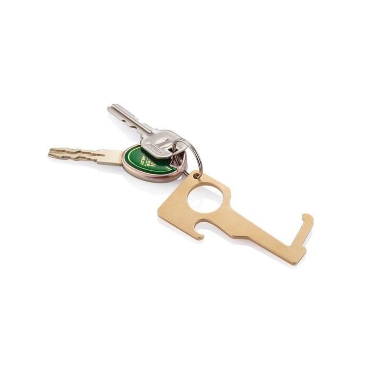 Porte-clés zéro contact - Anti COVID publicitaire