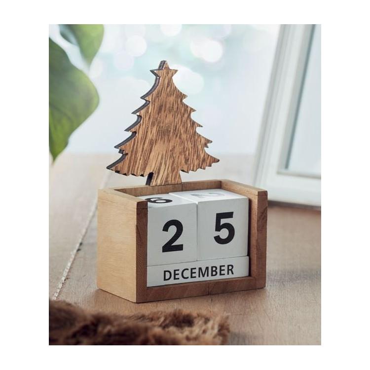Calendrier de bureau de Noël - Noël publicitaire