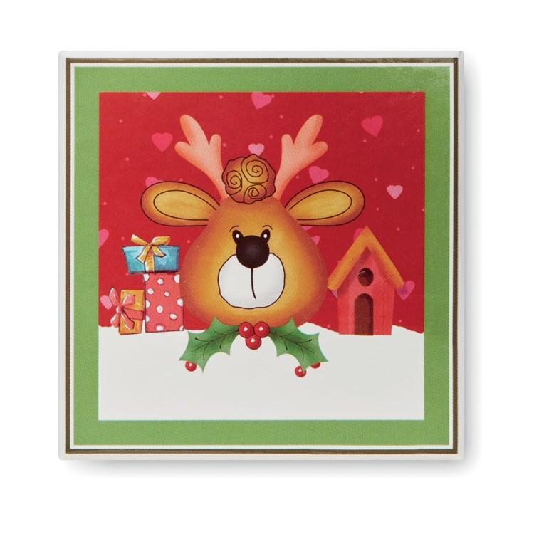 Boule de Noël et boîte assortie - Noël publicitaire