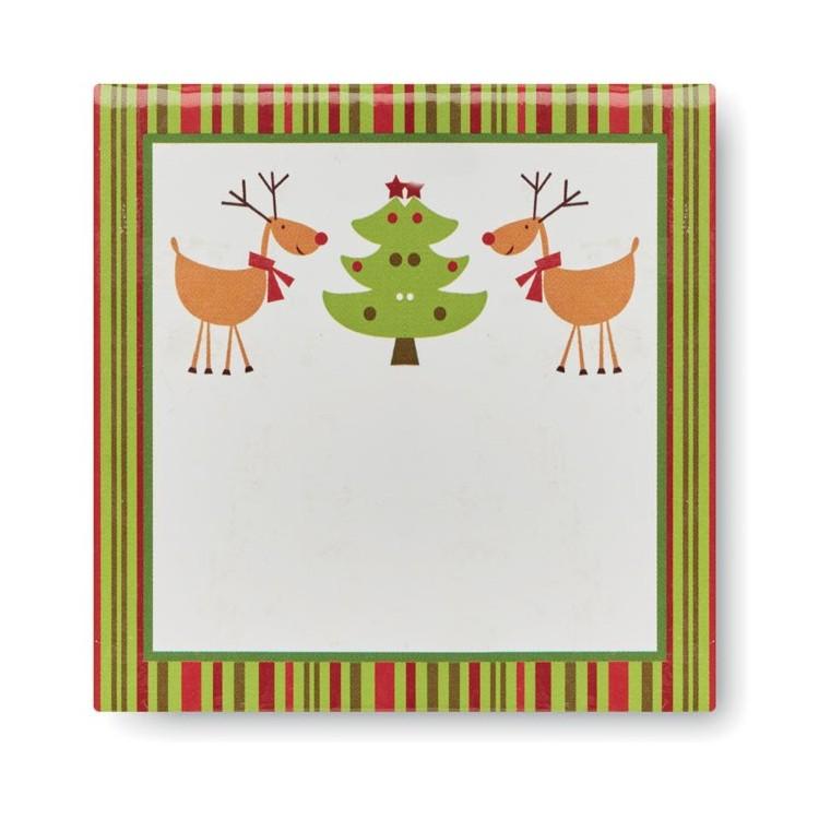Boule de Noël et boîte assortie - Noël avec logo