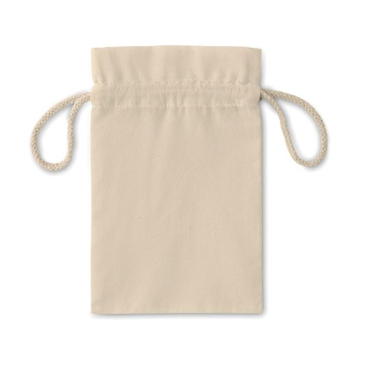 Petit sac en coton 14x22cm publicitaire - Noël personnalisé