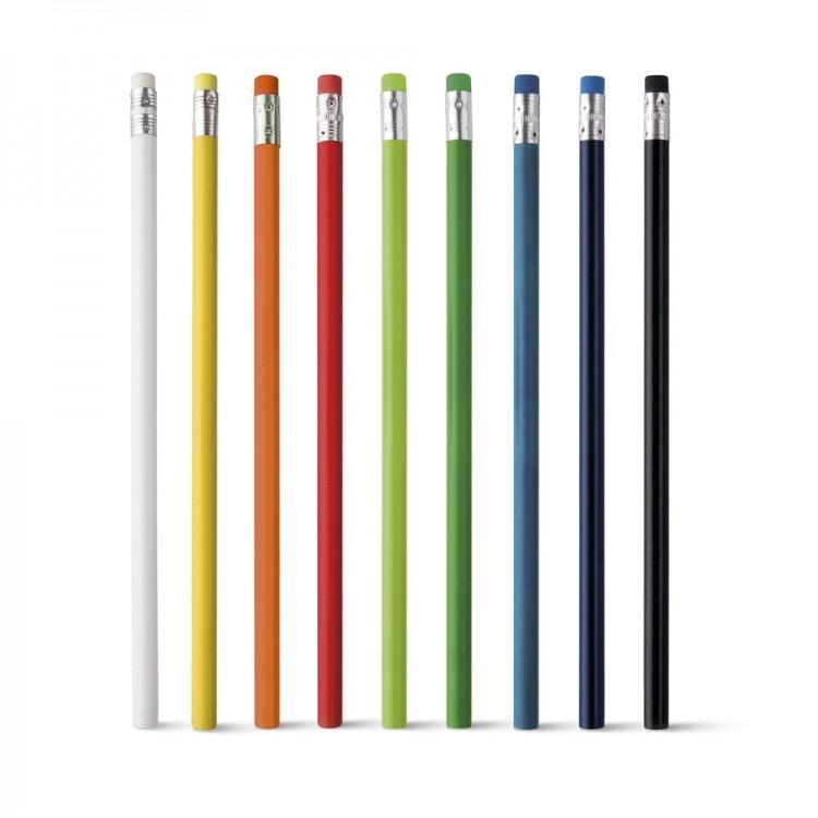 Crayon à papier avec gomme assortie - Produits avec logo