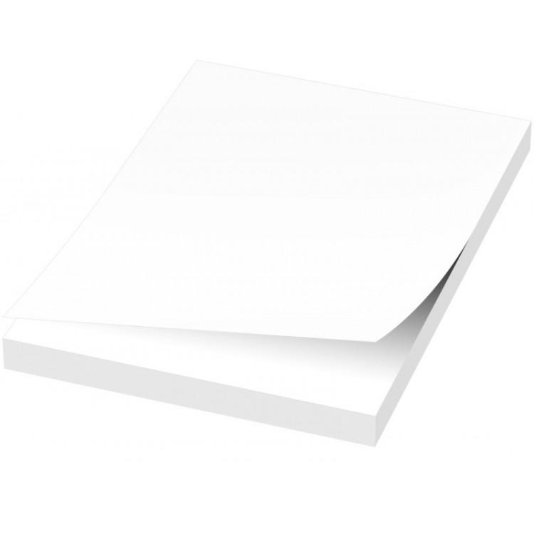 50 notes adhésives 50x75mm personnalisé - Bloc-notes personnalisable