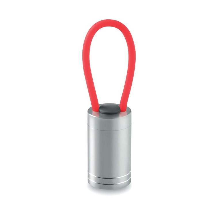 Lampe publicitaire aluminium - Plein air avec logo