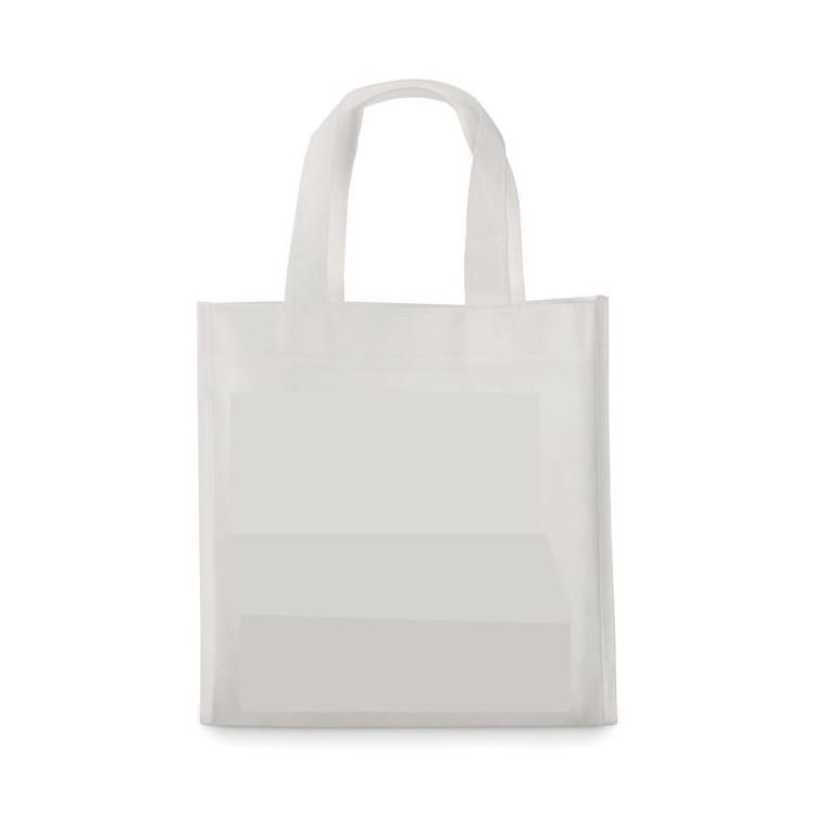 Mini sac shopping à colorier - Enfants publicitaire