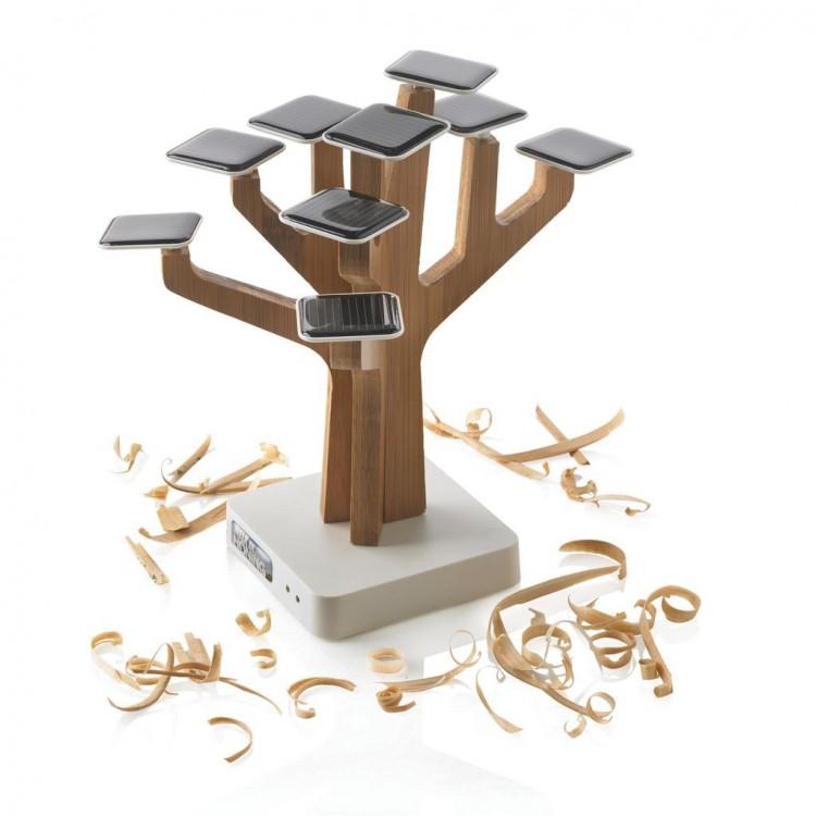 Chargeur à énergie solaire - Hi Tech personnalisable