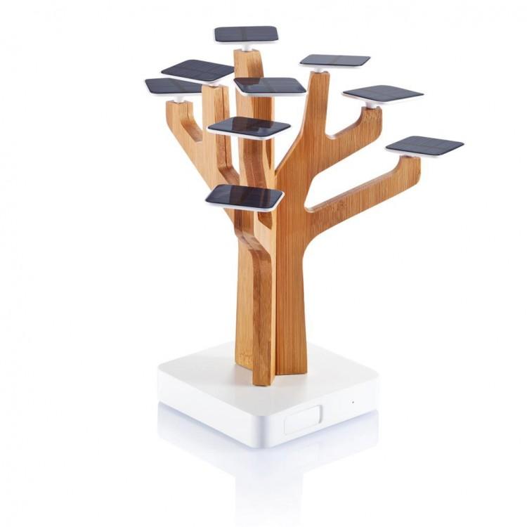 Chargeur à énergie solaire personnalisé - Bureau personnalisable