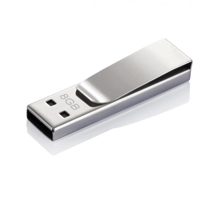 Clé USB Tag, argent - Produits personnalisé