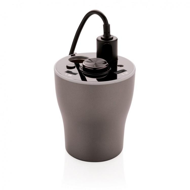 Chargeur de voiture avec oreillette sans fil - Bureau publicitaire