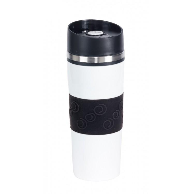 Mug isotherme (400 ml) personnalisé - Gobelet double paroi personnalisable