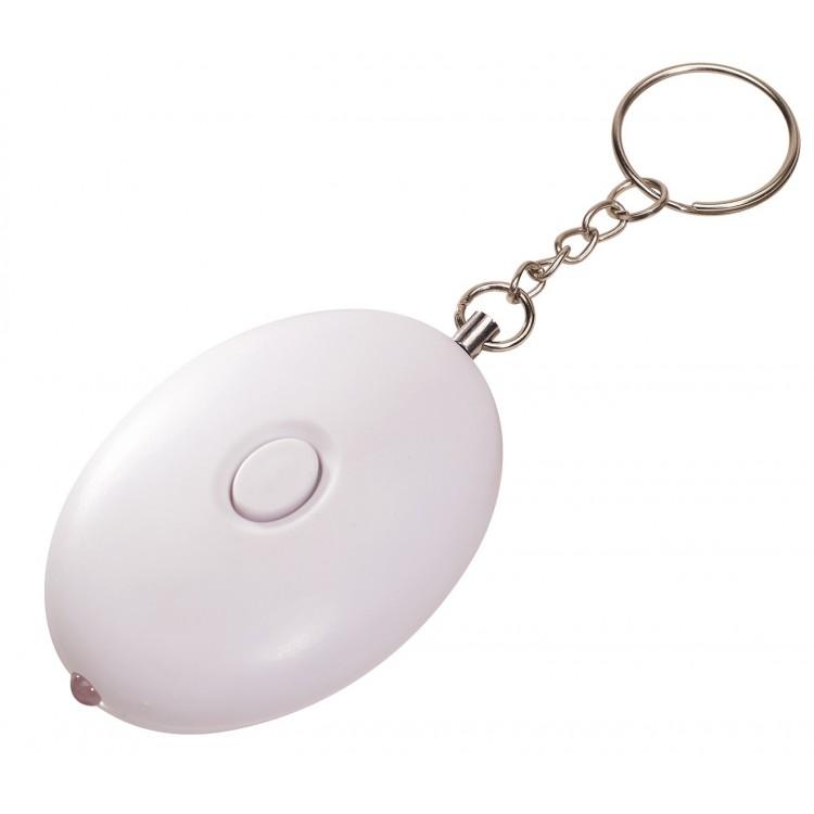 Porte-clés alarme publicitaire - Porte-clé alarme personnalisé