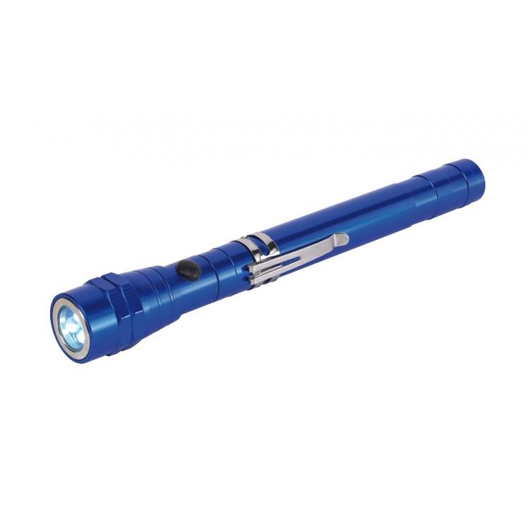 Lampe de poche LED télescopique - Lampe & torche avec logo