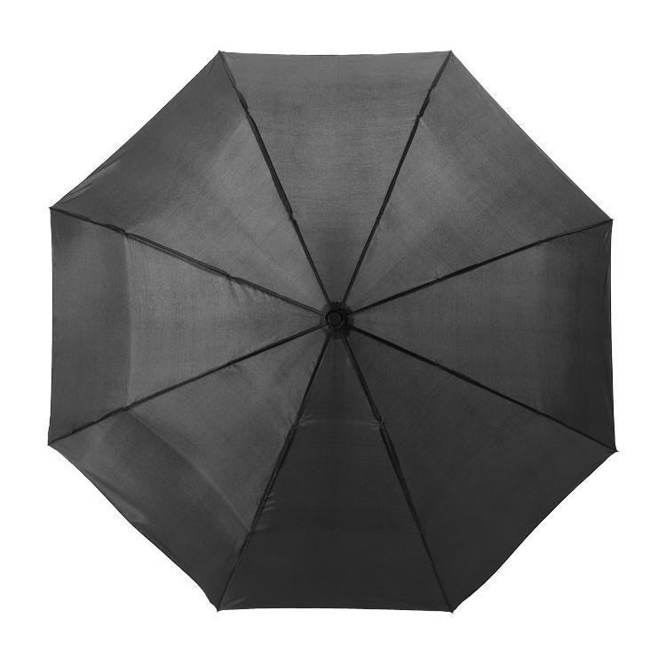 Parapluie pliant (98 cm) - Hiver avec logo