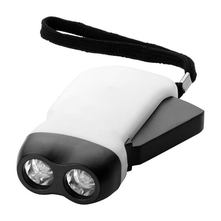 Lampe torche à double led - Outil avec logo