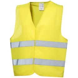 Gilet de sécurité jaune...