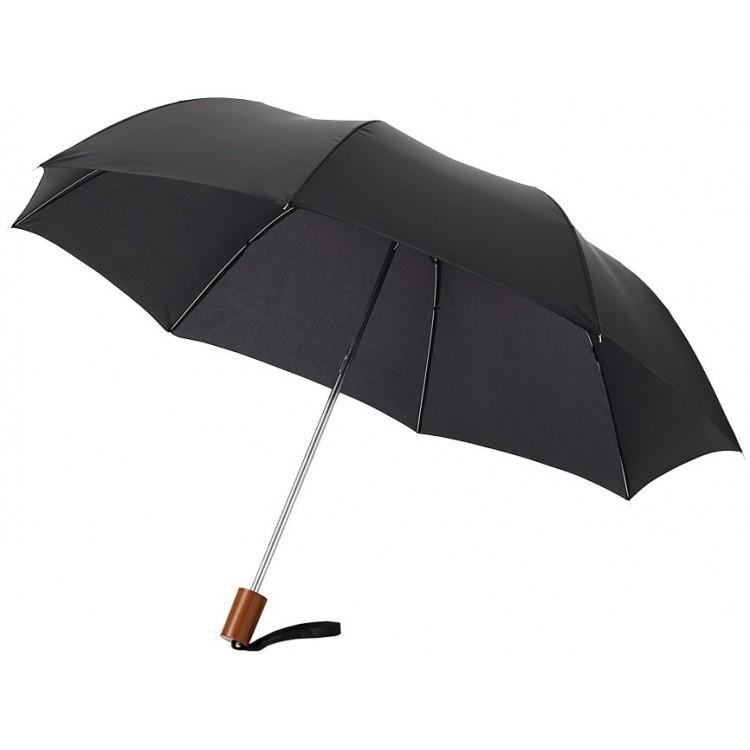 Parapluie 2 sections (90 cm) - Parapluie pliable avec logo