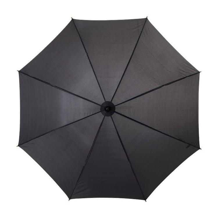 Parapluie poignée bois (106 cm) personnalisé - Hiver personnalisable