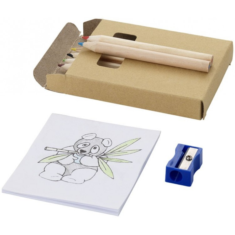 Set de coloriage (8 pièces) - Crayon de couleur personnalisable