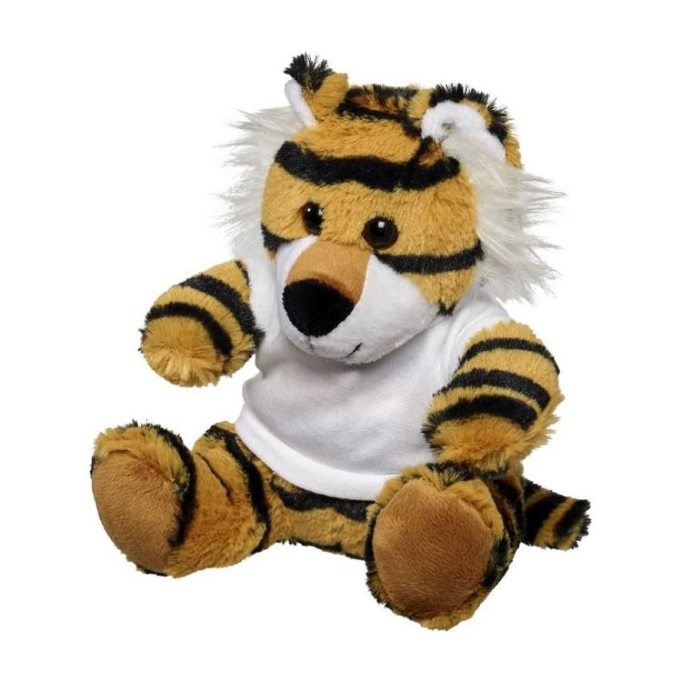 Tigre en peluche - Peluche avec logo