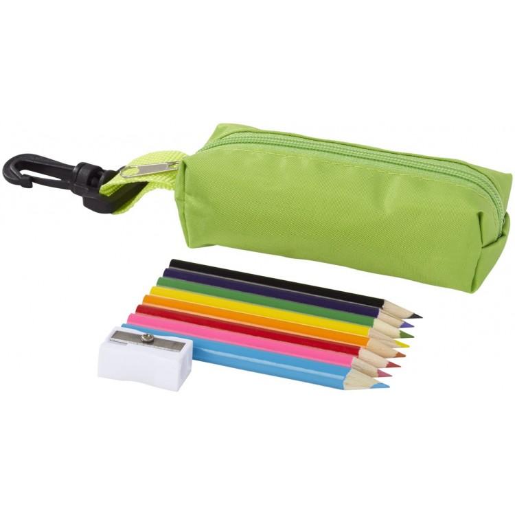 Trousse de 8 crayons de couleur - Crayon de couleur personnalisé
