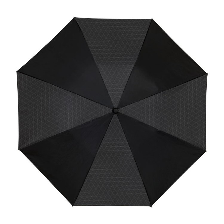Parapluie pliable automatique 101cm de diamètre personnalisé - Hiver personnalisable
