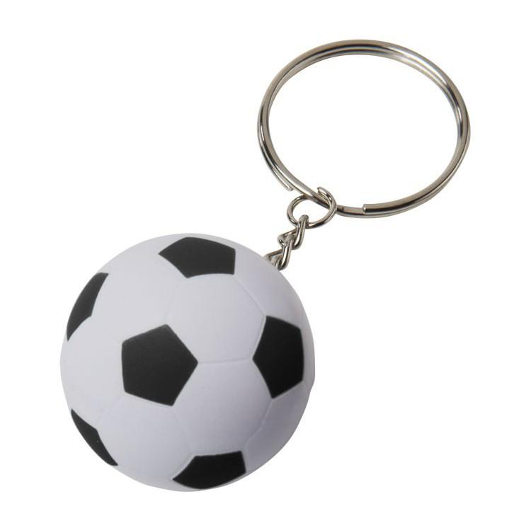 Porte-clés ballon de foot - Porte-clé plastique personnalisable