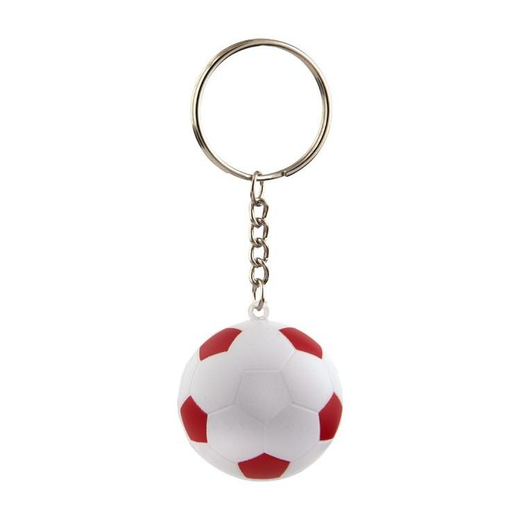 Porte-clés ballon de foot personnalisé - Porte-clé plastique personnalisable