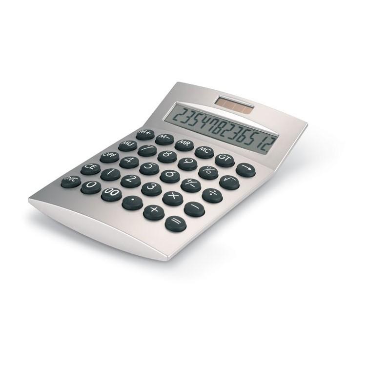 Calculatrice 12 chiffres publicitaire - Bureau personnalisé