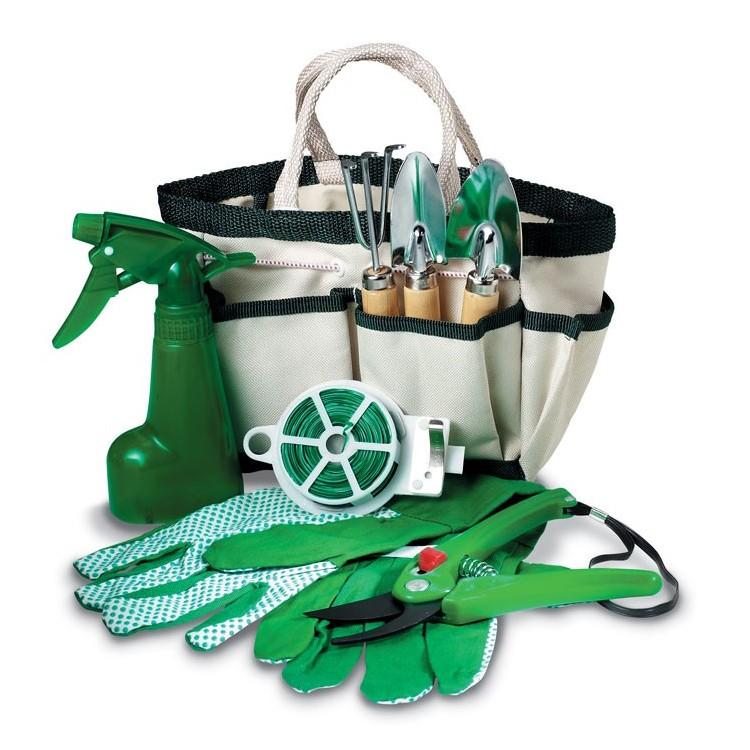 Kit de 7 outils de jardinage - Jeu de plein air publicitaire