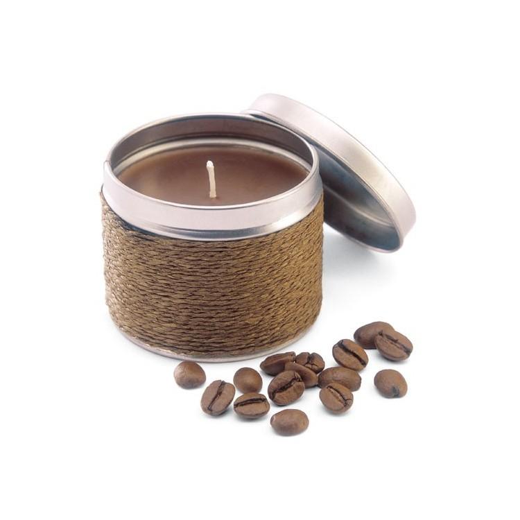 Bougies parfumées en boite métal - Bougie personnalisée