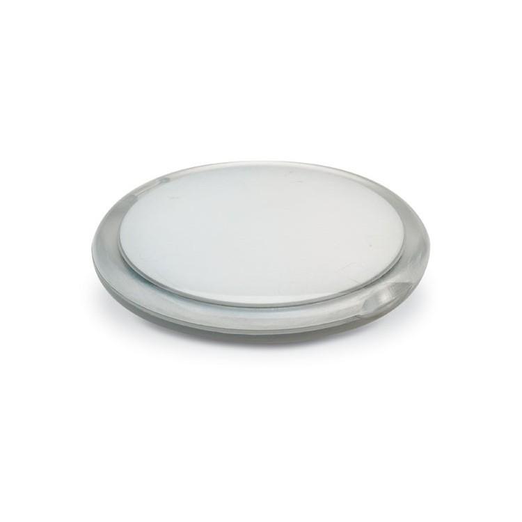 Double miroir rond personnalisé - Miroir personnalisable