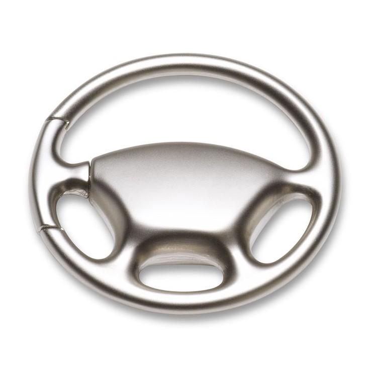 """""""Porte-clés """"""""volant"""""""""""" - Porte-clé métal avec logo"""