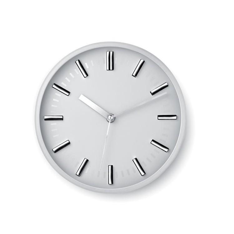 Horloge murale design Ø 23 cm - Hi Tech avec logo
