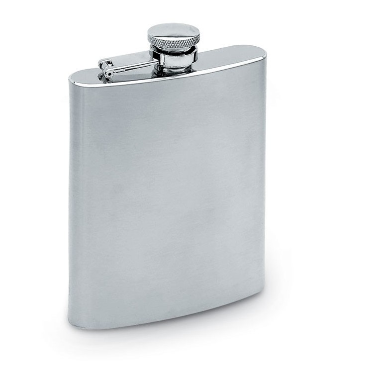 Grande flasque inox personnalisée - Objet personnalisable en quadrichromie personnalisable