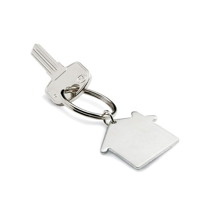Porte clés métal publicitaire - Porte-clé métal personnalisé