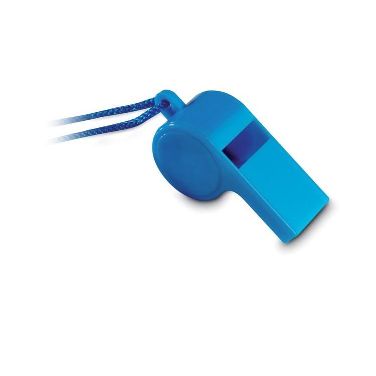 Sifflet avec collier sécurisé - Jeu de plein air personnalisable