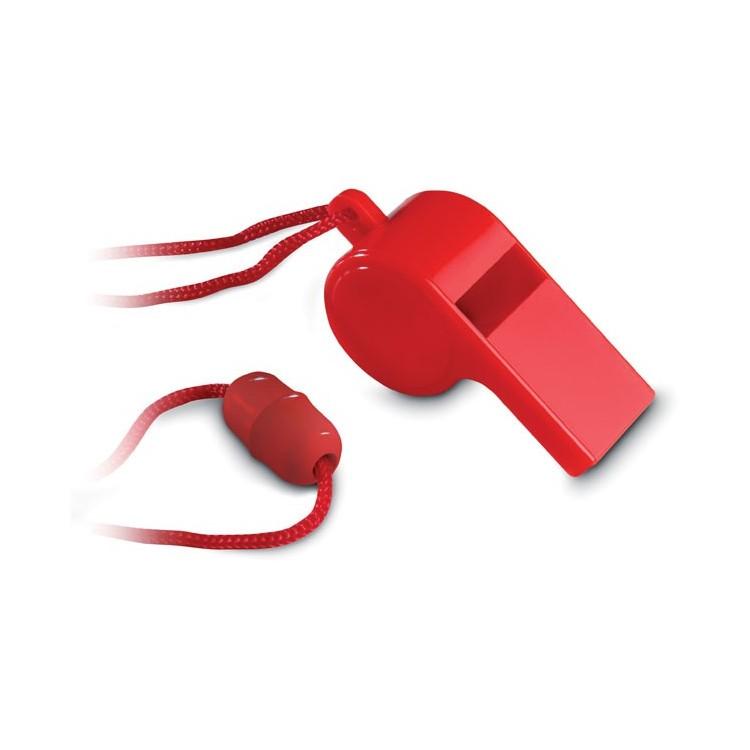 Sifflet avec collier sécurisé personnalisé - Jeu de plein air personnalisable