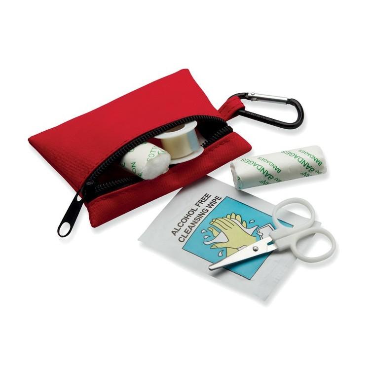 Trousse de secours à mousqueton - Trousse de secours personnalisé