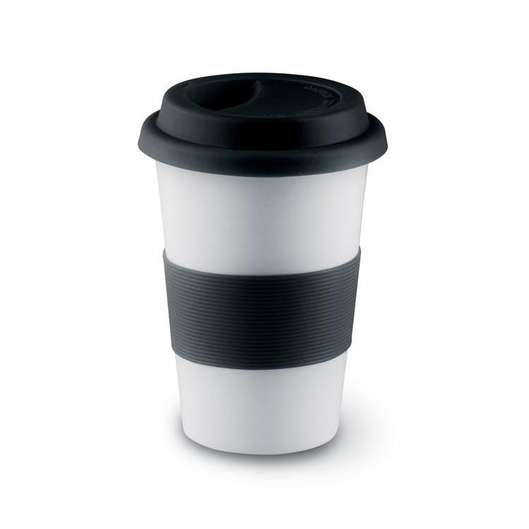 Mug céramique avec silicone 40cl publicitaire - Arts de la table personnalisé