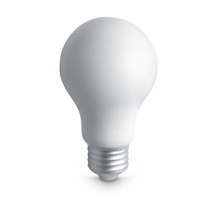 Balle anti stress ampoule - Plein air publicitaire