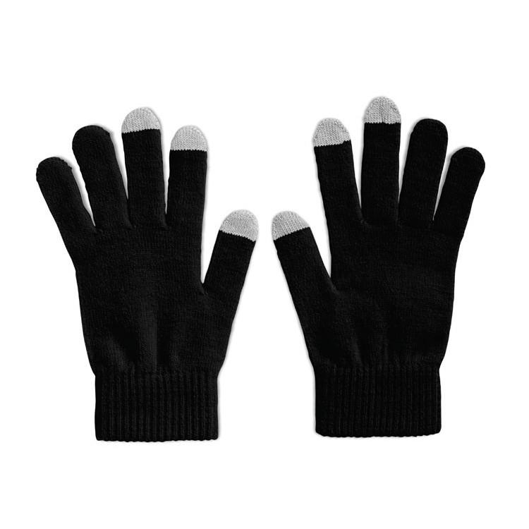 Gants tactiles smartphones publicitaire - Vêtement & textile personnalisé