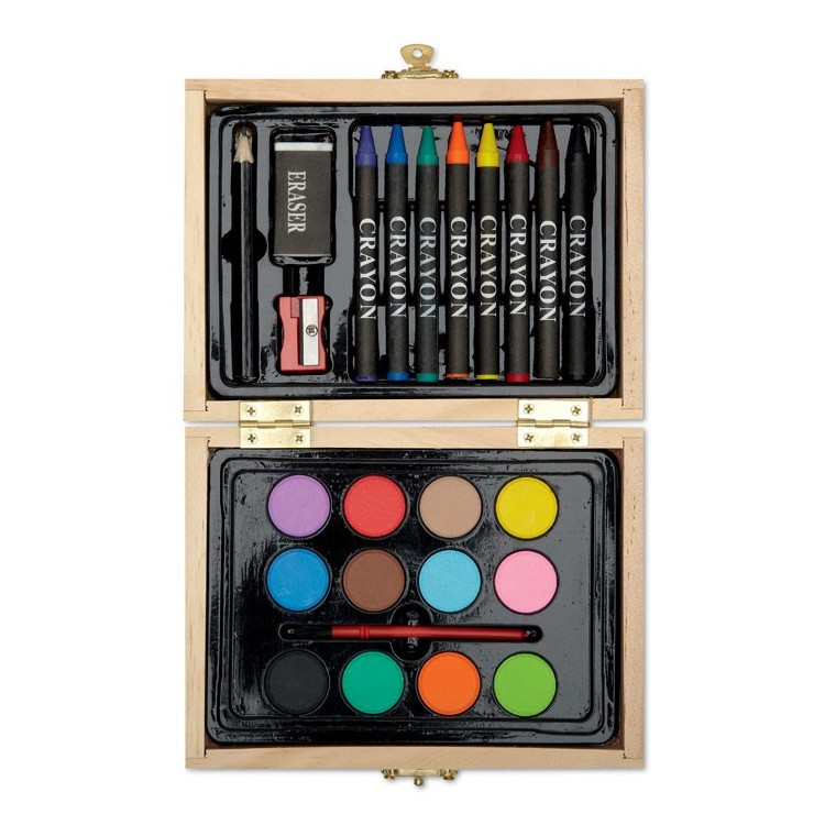 Mallette de peinture compacte - Peinture publicitaire