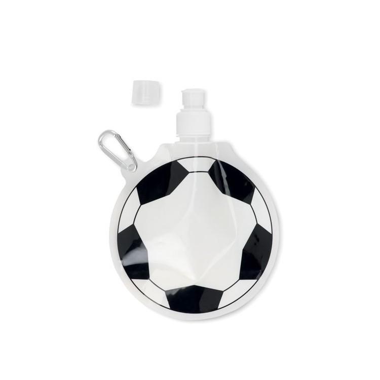 Gourde pliable ballon (500 ml) - Gourde de sport avec logo