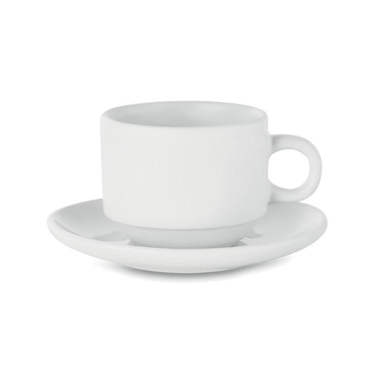 Tasse à cappucino publicitaire - Arts de la table personnalisé