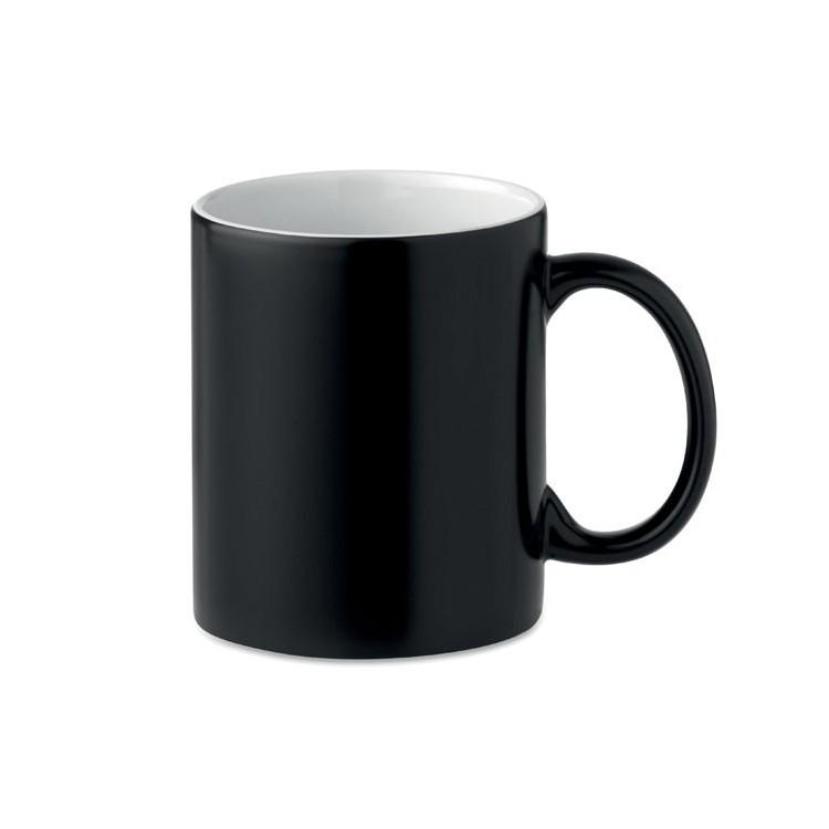 Mug 30cl change de couleur avec la chaleur - Bureau avec logo