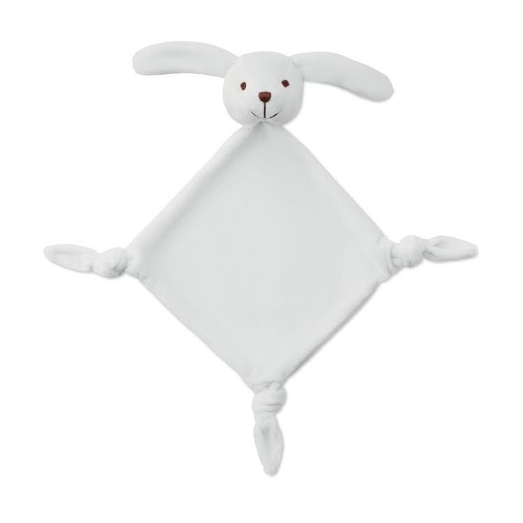 Doudou pour bébé - Peluche avec logo