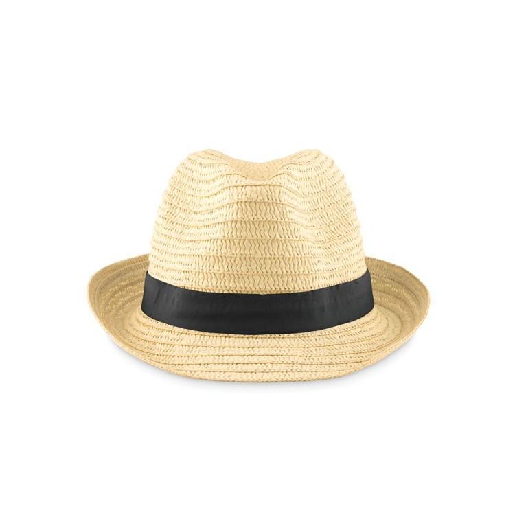 Chapeau de paille - Chapeau avec logo